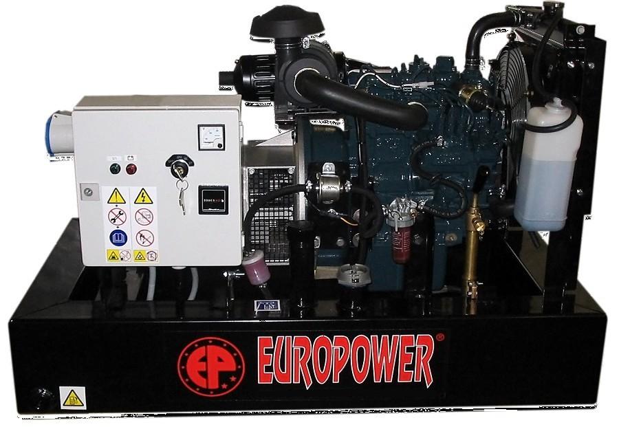 Генератор дизельный Europower EP 30 DE в Людиновое
