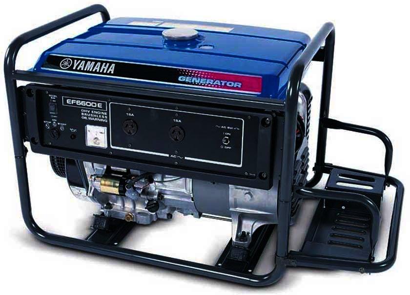 Генератор Yamaha  EF6600E в Людиновое