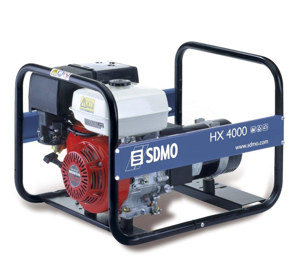 Генератор SDMO HX 4000-S в Людиновое