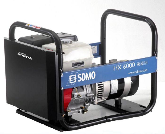 Генератор SDMO HX 6000-S в Людиновое