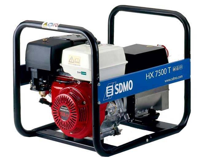 Генератор SDMO HX 7500 T-S в Людиновое